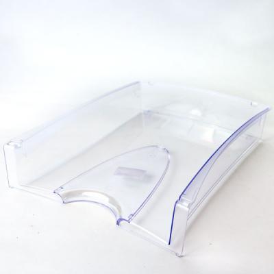Лоток для бумаг горизонтальный LUX, прозрачный IT808Tr