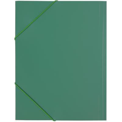 Папка на резинках, ф.A4, зеленая SF311/GN SF311/GN