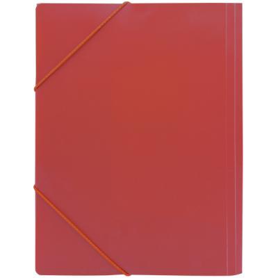 Папка на резинках, ф.A4, красная