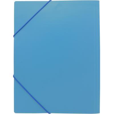 Папка на резинках, ф.A4, синяя SF311/BU