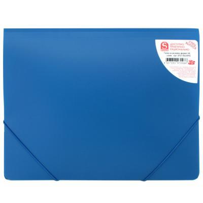 Папка на резинках, ф.А4, синяя, 0,4мм SF311/BU/SPEC SF311/BU/SPEC-1