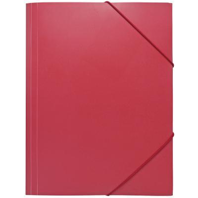Папка на резинках, ф.А4, красная, 0,4мм|1 SF311/RD/SPEC