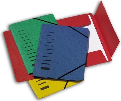 Папка на резинках картонная, ф.А4, на 200 листов, красная 24007-01