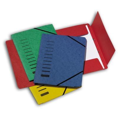 Папка на резинках картонная, ф.А4, на 200 листов, синяя 24007-02