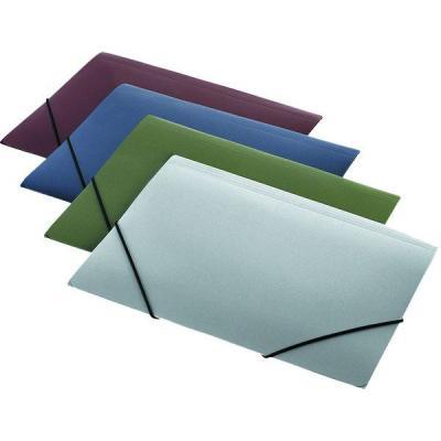 Папка на резинках, ф.А4, цвет зеленый, материал полипропилен, плотность 600 мкр 0410-0003-04