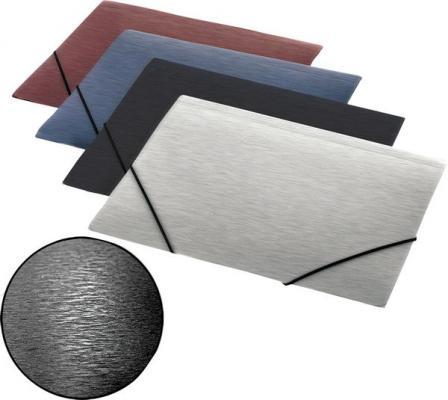 Папка на резинках SIMPLE, ф.А4, серый, материал PP, плотность 600 мкр 0410-0057-12
