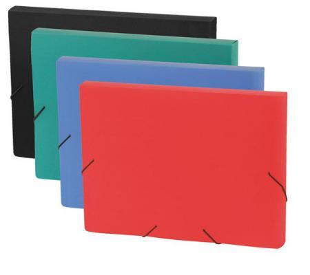 Папка на резинках FOCUS, ф.A4, 30 мм, зеленый, материал PP, плотность 600 мкр 0410-0059-04