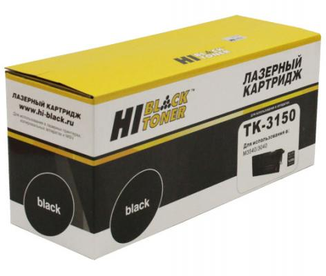 все цены на Картридж Hi-Black TK-3150 для Kyocera ECOSYS M3040idn/M3540idn черный 14500стр онлайн
