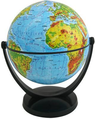 Глобус физический, 10.6 см, с экваториальным креплением, в блистерной упаковке RG106/PH/EF