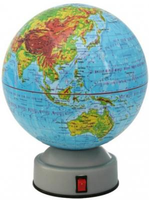 Глобус физический, вращающийся, 14,2см RG142/PH/R horizon ph 15 r