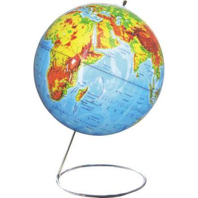 Глобус физический, 25 см, на металлической подставке RG25/PH
