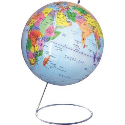 Глобус политический, 25 см, на металлической подставке
