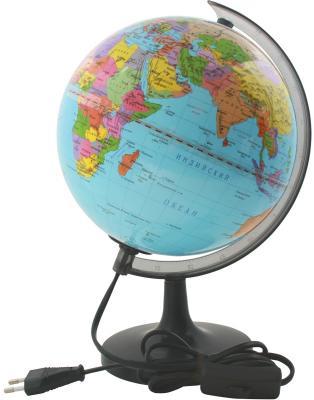 Глобус политический с подсветкой, 20см, новая карта RG20/POL/L*