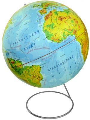 Глобус физический, 42 см, на металлической подставке RG42/PH