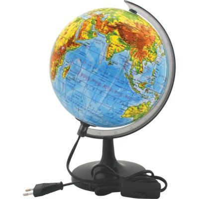 Глобус физический с подсветкой, 20см, белая коробка RG20/PH/L/spec
