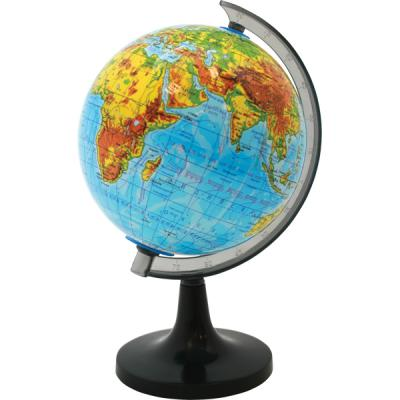 Глобус физический, 20см, белая коробка RG20/PH/spec
