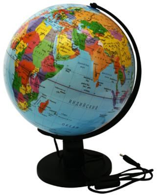 Глобус политический с подсветкой, 32см, новая карта RG32/POL/L*