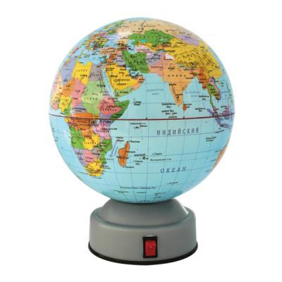 Глобус политический, вращающийся, 14,2см, новая карта RG142/POL/R*