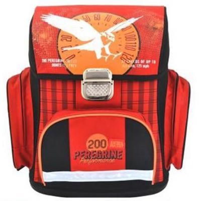 Ранец с анатомической спинкой Action! ANIMAL PLANET Белый Сокол красный AP-ASB4002/2/15