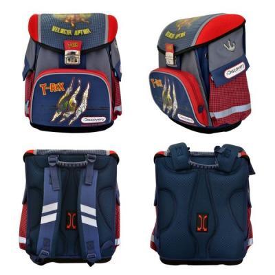 Ранец с анатомической спинкой Action! DISCOVERY T-REX 14 л красный синий стиральная машина bomann wa 5716