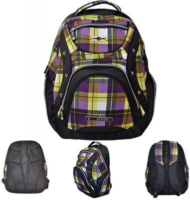 Купить Рюкзак ACTION, разм.44*33*16 см AB11042, Action!, разноцветный, полиэстер, Ранцы, рюкзаки и сумки