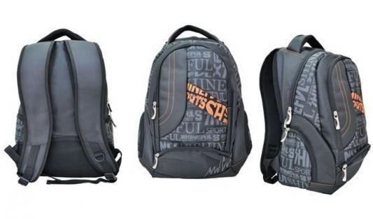 Рюкзак Action! AB11062 черный рюкзак action мягкий 37х29х15см черный