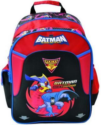Рюкзак с уплотненной спинкой Action! Бэтмен: отважный и смелый черный красный BA-ASB5001/1 BA-ASB5001/1