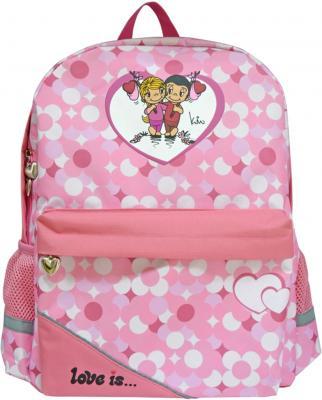 Рюкзак с рельефной спинкой Action! Love IS розовый LI-AB1293/ -/
