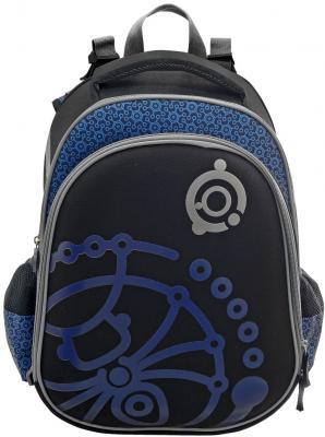 Рюкзак с рельефной спинкой Action! Алиса синий черный AZ-ASB4614/4
