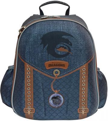 Купить Рюкзак с анатомической спинкой Action! Как приручить дракона 2 синий DR-ASB4614/1, текстиль, Ранцы, рюкзаки и сумки