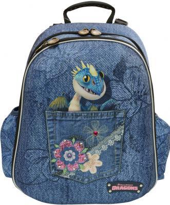 Купить Рюкзак с анатомической спинкой Action! Как приручить дракона 2 синий DR-ASB4614/2, текстиль, Ранцы, рюкзаки и сумки