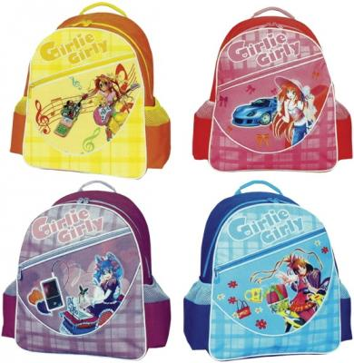 Рюкзак с уплотненной спинкой Tiger Enterprise GIRLIE GIRLY разноцветный принт 2616/TG в ассортименте 2616/TG enterprise coursebook в киеве