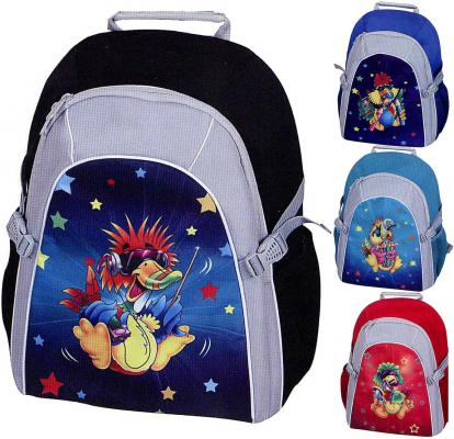 Рюкзак с анатомической спинкой Tiger Enterprise Joyful Birdie 2919/TG в ассортименте 2919/TG