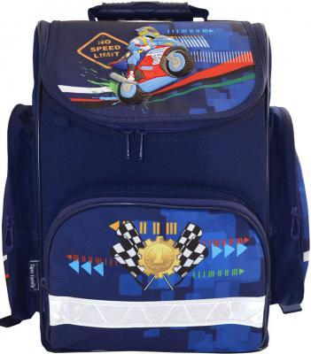 Ранец с анатомической спинкой Tiger Enterprise Joy Collection Motorbike 18 л синий 21105/A/TG 21105/A/TG