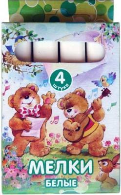 Мелки школьные Action FANCY 1 цвет 4 штуки от 3 лет FCW-4*