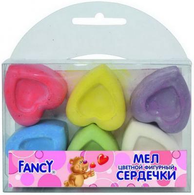 Набор мелков Action FANCY 6 цветов 6 штук от 3 лет FCCF-6/3 фигурные масляные карандаши action fancy 12 штук 12 цветов от 3 лет fop200 12