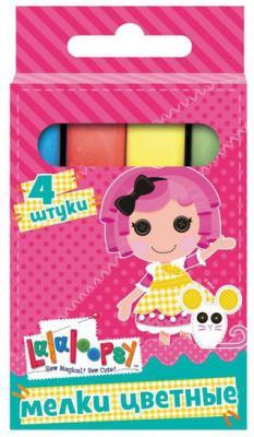 Мелки школьные Action LALALOOPSY 4 цвета 4 штуки от 5 лет LL-CC-4