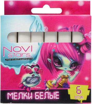 Мелки школьные Action Novi Stars 1 цвет 6 штук от 3 лет NS-CW-6