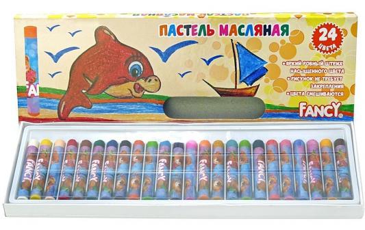 Набор художественной пастели Action Fancy 24 цвета 24 штуки от 3 лет FOP100-24