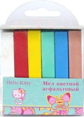 Мелки для асфальта Action Hello Kitty 6 цветов 6 штук от 1 года HKO-ACCA-6