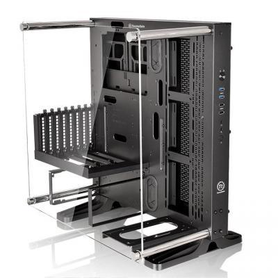 Корпус ATX Thermaltake Core P3 Без БП чёрный корпус atx thermaltake core p3 без бп чёрный