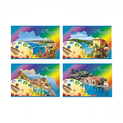 Альбом для рисования Би Джи ПАЛИТРА A4 32 листа А4ск32 1324