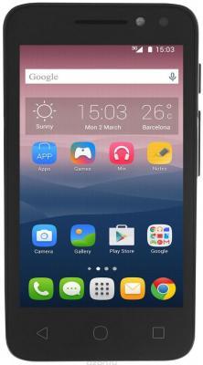 """Смартфон Alcatel OneTouch 4034D PIXI 4 белый 4"""" 4 Гб Wi-Fi GPS"""