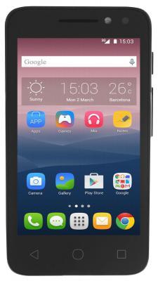 """Смартфон Alcatel OneTouch 4034D PIXI 4 черный 4"""" 4 Гб Wi-Fi GPS 3G"""