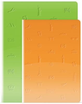 Ежедневник недатированный Bruno Visconti TRAVEL A5 искусственная кожа 3-049 в ассортименте
