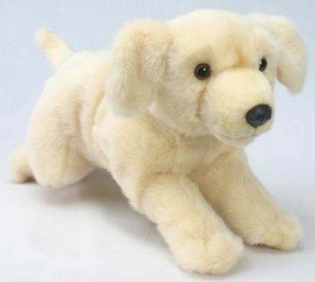 Мягкая игрушка собака Hansa Лабрадор искусственный мех бежевый 45 см 3976