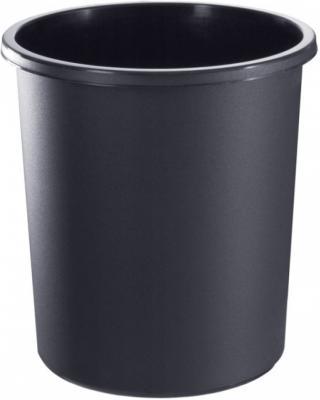 Корзина для бумаг СТАММ КР41 18л черная корзина для бумаг стамм кр02 18 серая