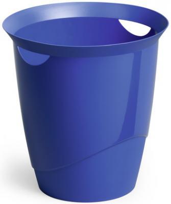 Корзина для бумаг Durable Trend 16 синяя 1701710-040