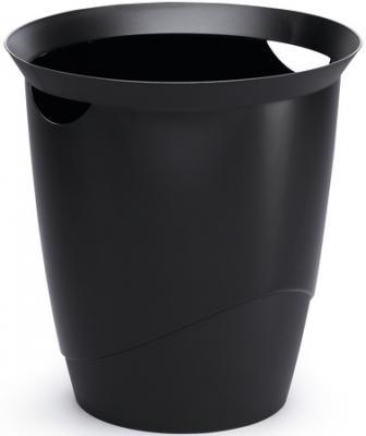 Корзина для бумаг Durable Trend 16 черная 1701710-060