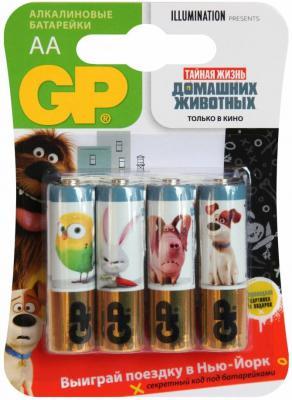 Батарейки GP 15APT-2CR4 AA 4 шт